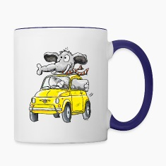 Elephant Car - Oldtimer Bottles & Mugs