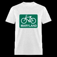 T-Shirts ~ Men's T-Shirt ~ Bike Maryland