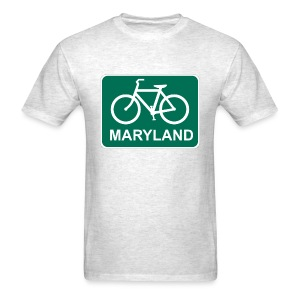 Bike Maryland - Men's T-Shirt