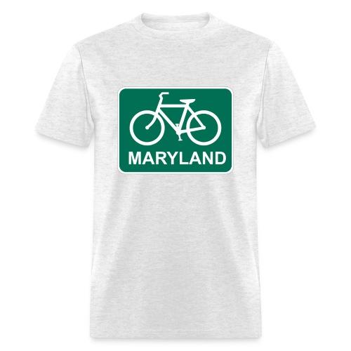 Bike Maryland - Men's T-Shirt