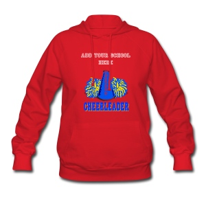 Cheerleader Hooded Sweatshirt - Women's Hoodie