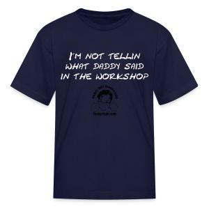 Not Tellin' Kid - Kids' T-Shirt
