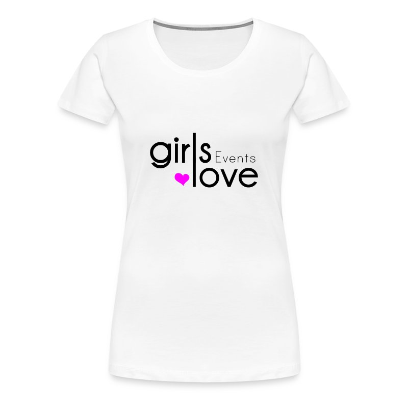 logo_girlslove (Events) - Women's Premium T-Shirt