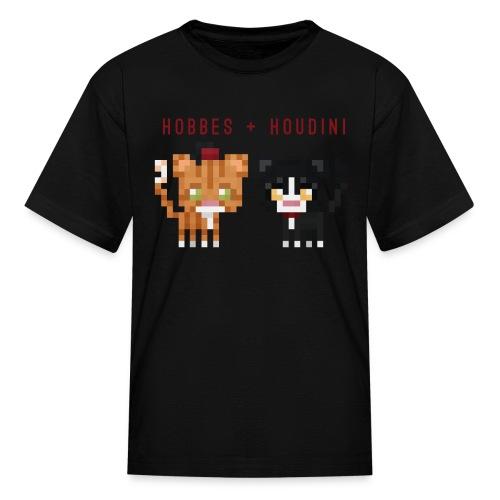 Hobbes + Houdini (kids) - Kids' T-Shirt