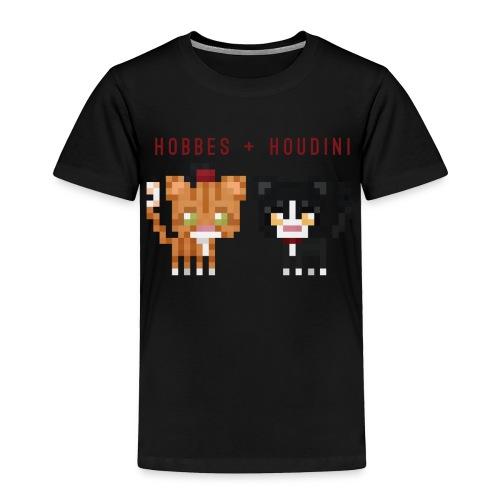 Hobbes + Houdini (toddler) - Toddler Premium T-Shirt