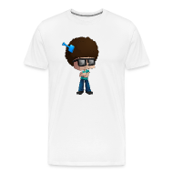 T-Shirts ~ Men's Premium T-Shirt ~ Men's Premium T-Shirt: Fear The Fro