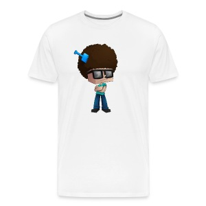 Men's Premium T-Shirt: Fear The Fro - Men's Premium T-Shirt