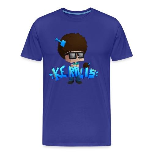 Men's Premium T-Shirt: Keralis Fro - Men's Premium T-Shirt