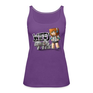 Women's Premium Tank Top: Wifey - Women's Premium Tank Top