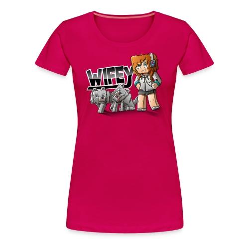 Women's Premium T-Shirt: Wifey - Women's Premium T-Shirt