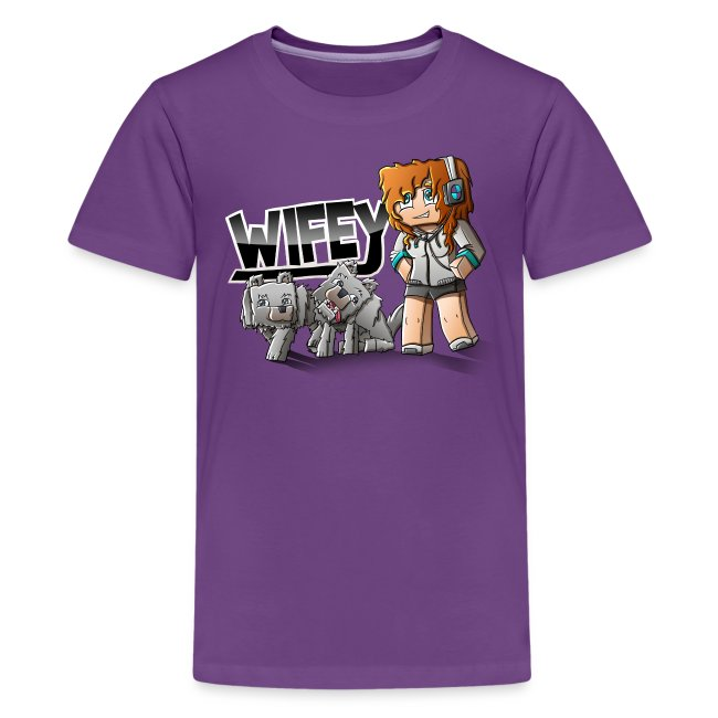 Kid's Premium T-Shirt: Wifey