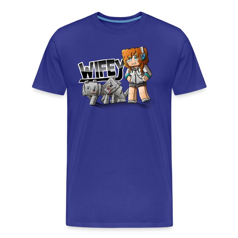 Men's Premium T-Shirt: Wifey - Men's Premium T-Shirt