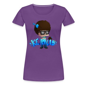 Women's Premium T-Shirt: Keralis Fro - Women's Premium T-Shirt