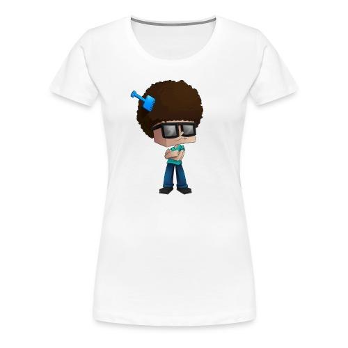 Women's Premium T-Shirt: Fear The Fro - Women's Premium T-Shirt