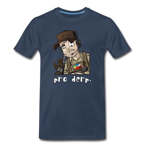 Men's Premium T-Shirt: Pro Derp Shooter - Men's Premium T-Shirt