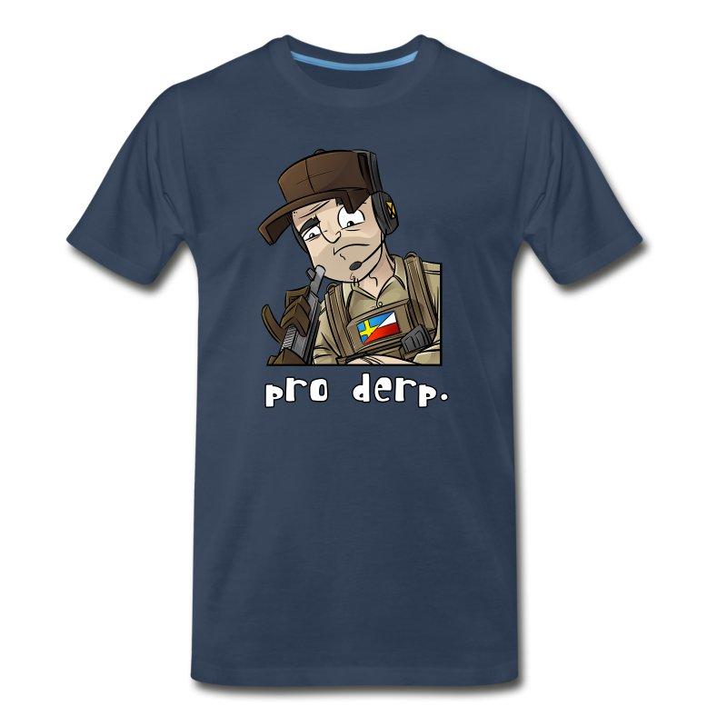 Men's Premium T-Shirt: Pro Derp Shooter - Men's Premium T-Shirt