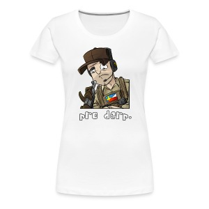 Women's Premium T-Shirt: Pro Derp Shooter - Women's Premium T-Shirt