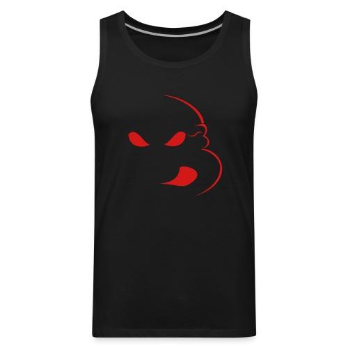 Red Sleeveless Ninja - Men's Premium Tank
