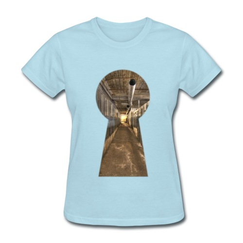 silk_mill_keyhole_color - Women's T-Shirt