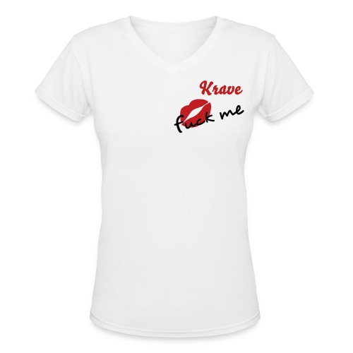 KraveTees - Women's V-Neck T-Shirt