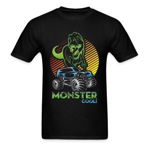 Dinosaur Monster Truck - Men's T-Shirt