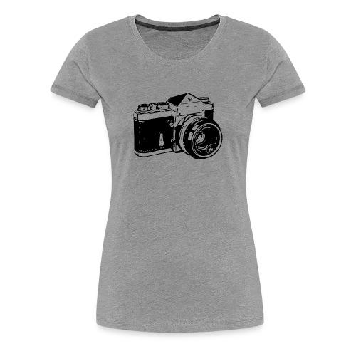 SLR - Black - Women's Premium T-Shirt