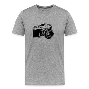 SLR - Black - Men's Premium T-Shirt