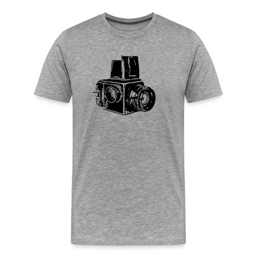 Hassy - Black - Men's Premium T-Shirt