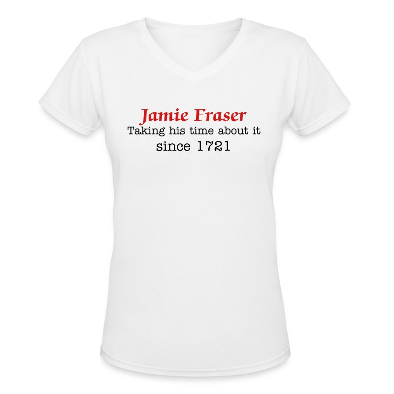 Taking His Time - Women's V-Neck T-Shirt