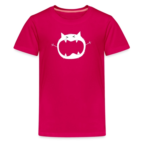 GRUMO-L8-Scream-00-Pink - Kids' Premium T-Shirt