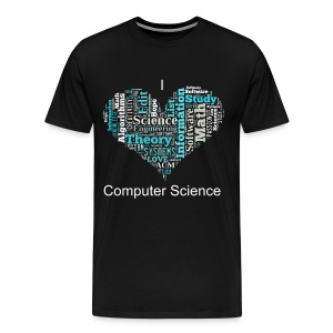 I Love Computer Science - Men's Premium T-Shirt