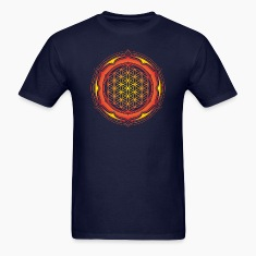 Flower of Life, Energy Symbol, Sacred Geometry T-Shirts