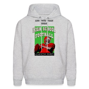 School Football Team Men's Hooded Sweatshirt - Men's Hoodie