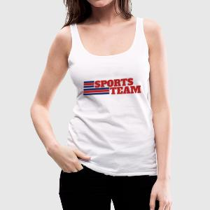 Sports Team - Women's Premium Tank Top