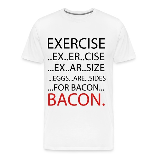Eggs are sides Tee - Men's Premium T-Shirt