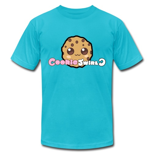 CookieSwirlC Men's Shirt (American Apparel) - Men's Fine Jersey T-Shirt