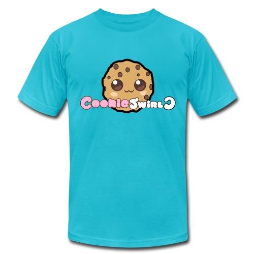 CookieSwirlC Men's Shirt (American Apparel) - Men's Fine Jersey T-Shirt