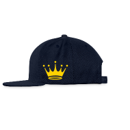 Sportswear ~ Snap-back Baseball Cap ~ crown of jesus hat left side