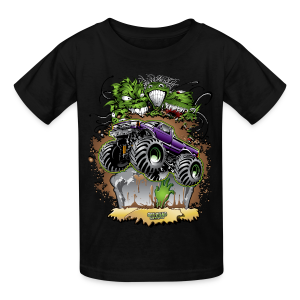 Zombie Monster Truck - Kids' T-Shirt