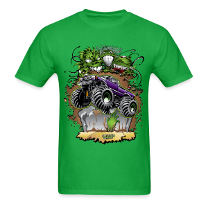 Zombie Monster Truck - Men's T-Shirt