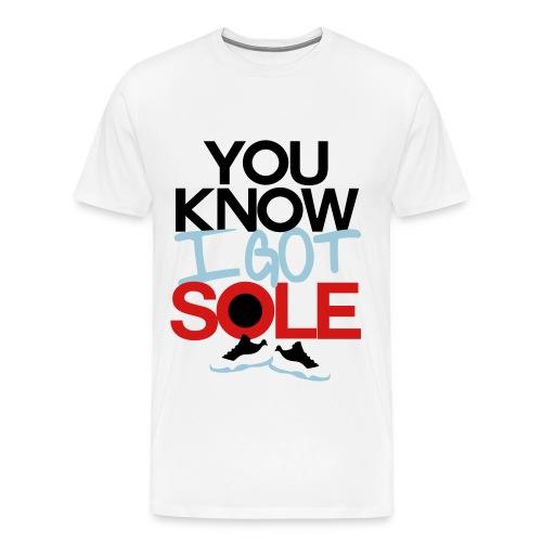 Sneakerhead Sole - Men's Premium T-Shirt