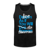 Tank Tops ~ Men's Premium Tank Top ~ Die Tmrw Tank