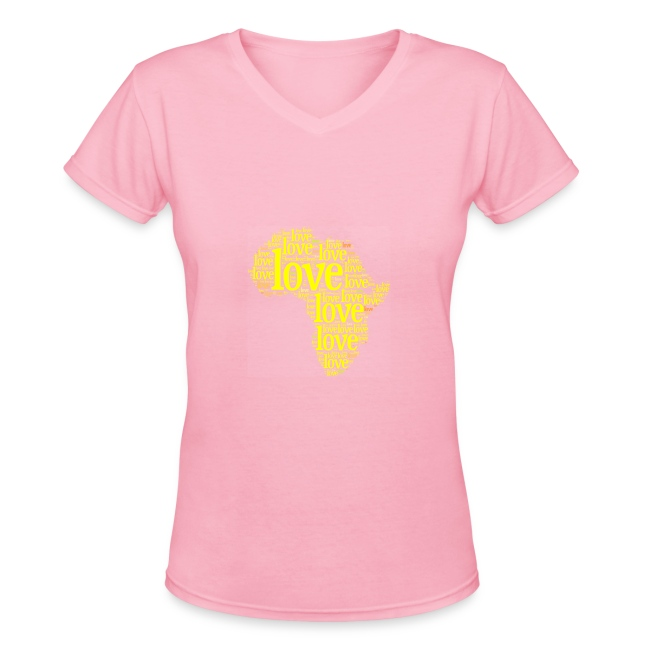 Pink/Yellow Africa