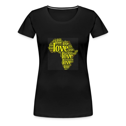 Africa Love - Women's Premium T-Shirt