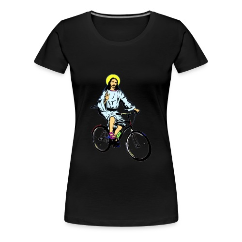 Jesus Bike - Women's Premium T-Shirt
