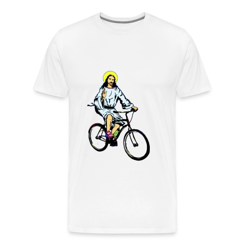 Jesus Bike - Men's Premium T-Shirt