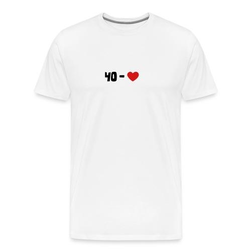 40 -  - Men's Premium T-Shirt