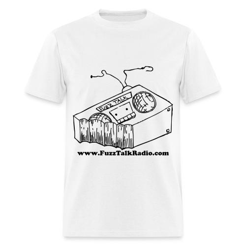 FTR Black Logo w/ Web Address - Men's T-Shirt