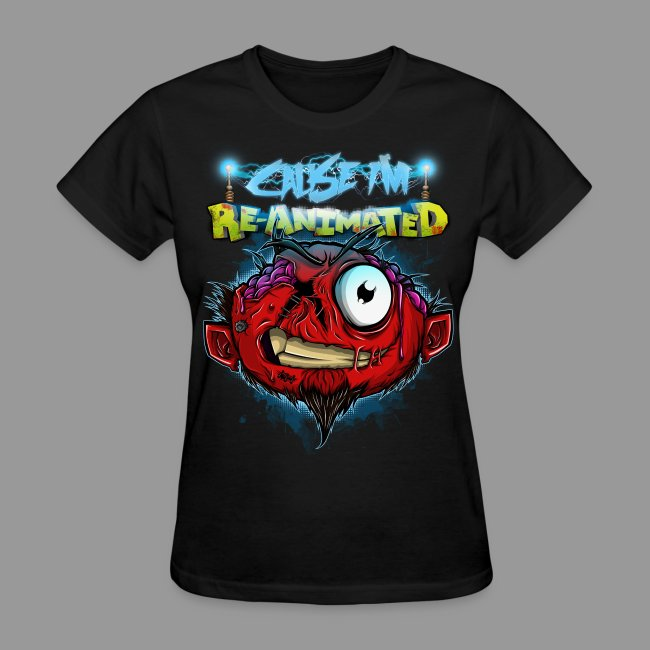 "Women's ""Re-animated"" Shirt"