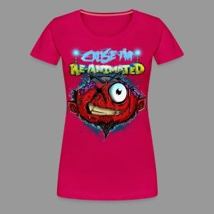 Premium Women's Re-animated Shirt - Women's Premium T-Shirt